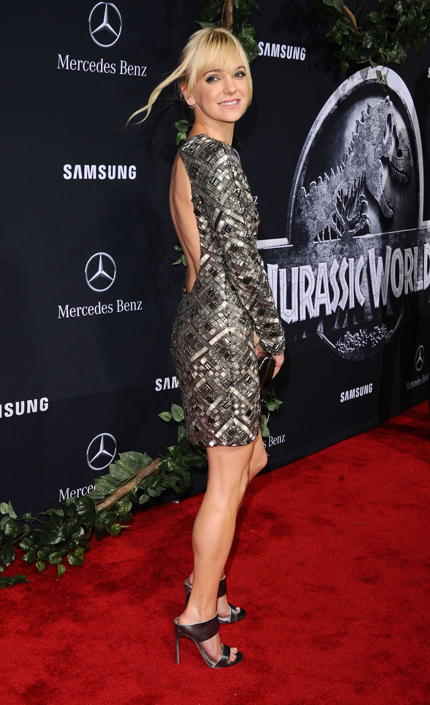 Anna Faris Jurassic World Premiere in Hollywood