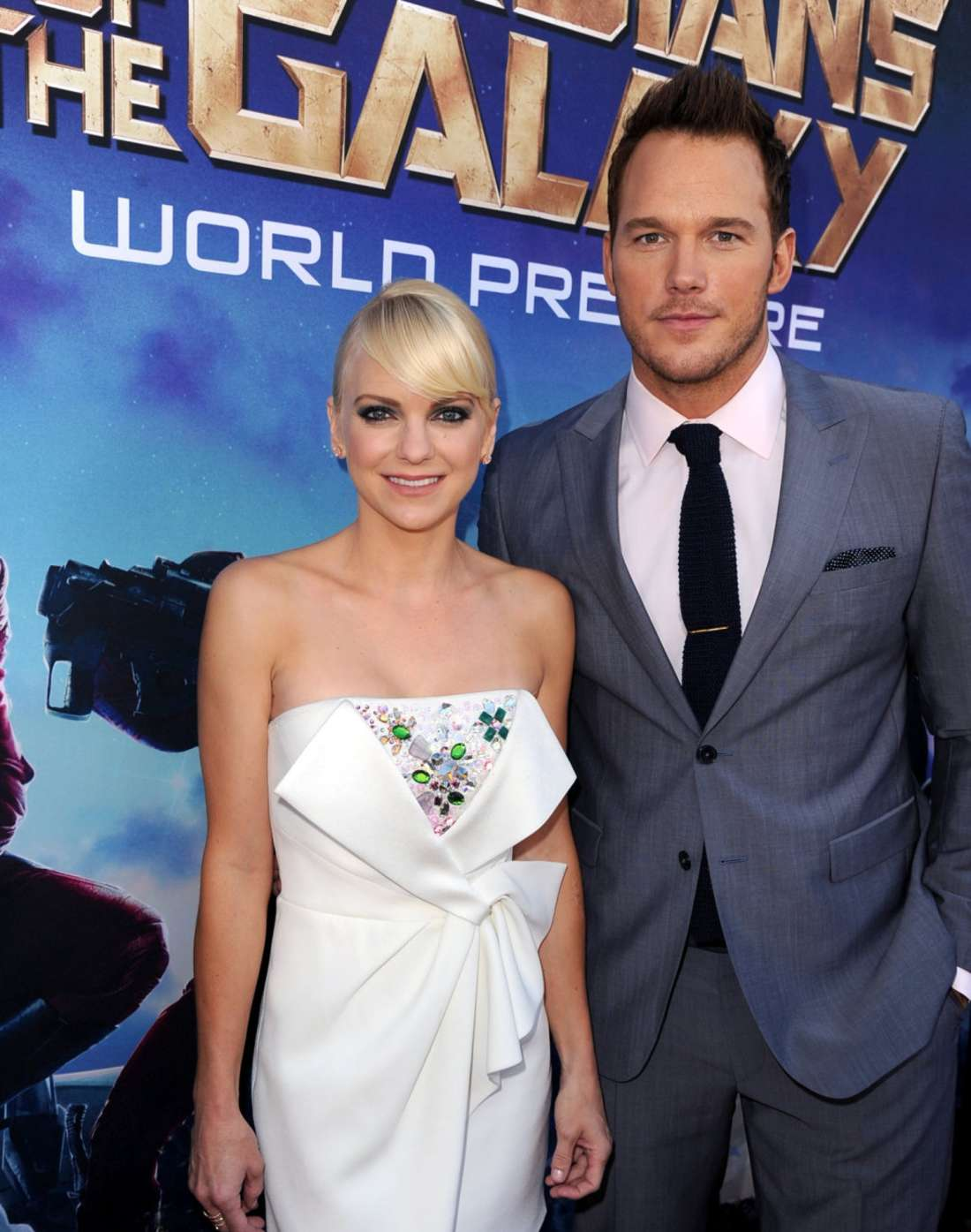 Anna Faris Premiere Guardians Of The Galaxy in Hollywood