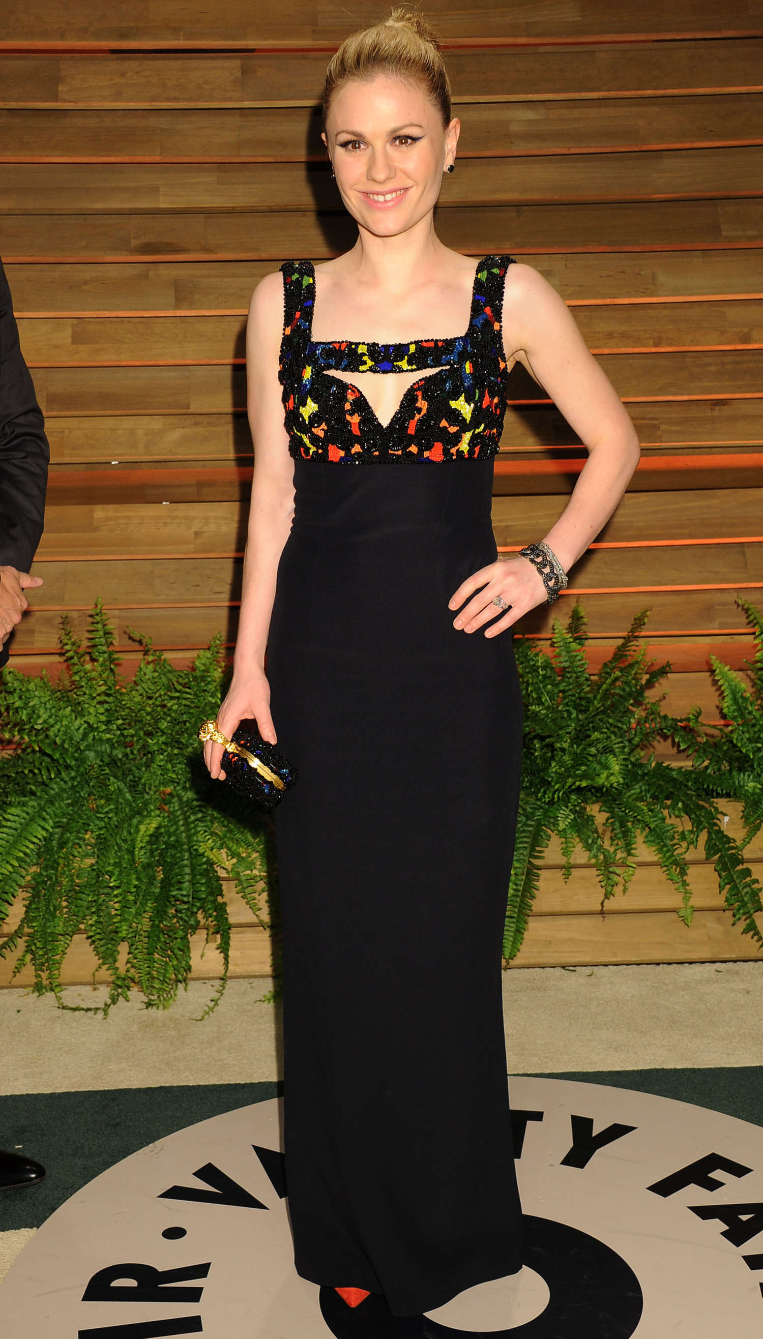 Anna Paquin Oscars Vanity Fair Party in West Hollywood