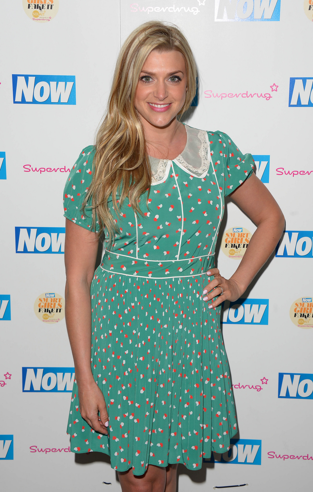 Anna Williamson Now Smart Girls Fake It Campaign Launch in London