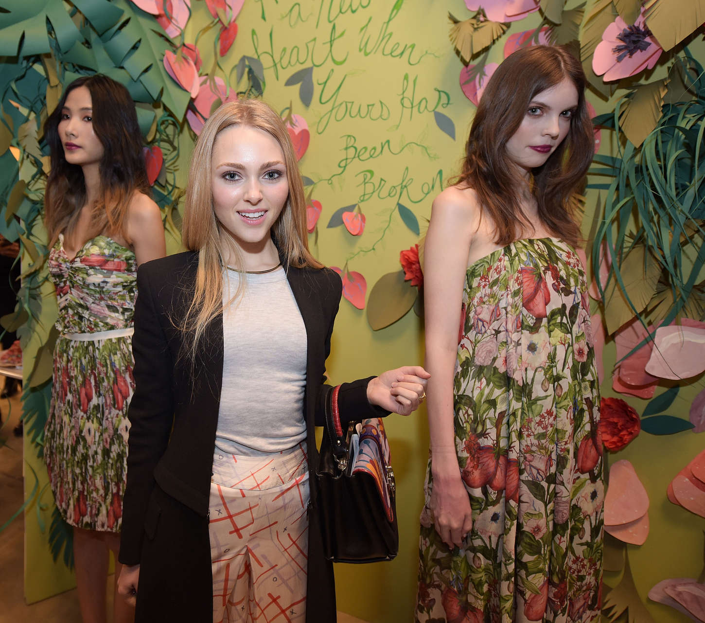 AnnaSophia Robb Rebecca Minkoff Fashion Show in New York