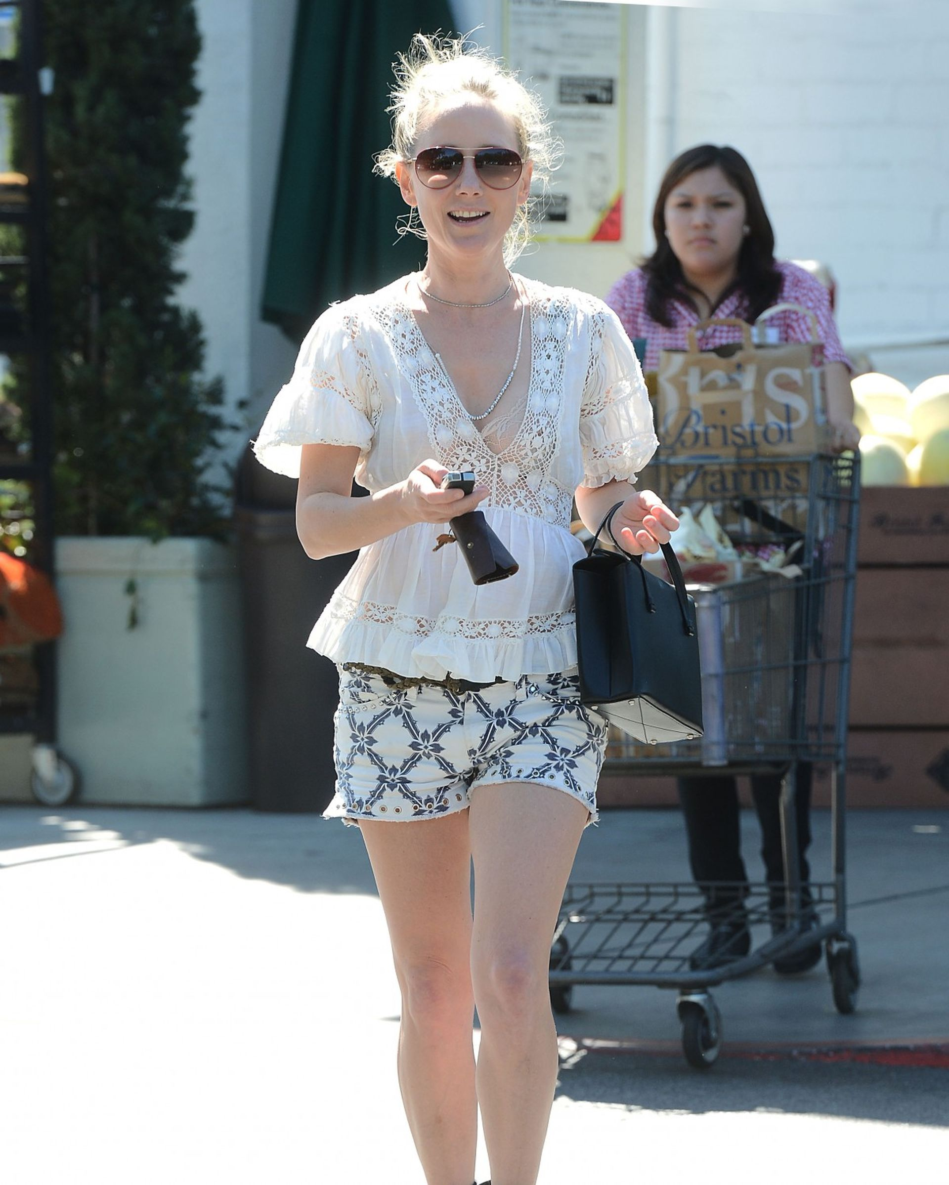 Anne Heche Shopping Candids in Los Angeles