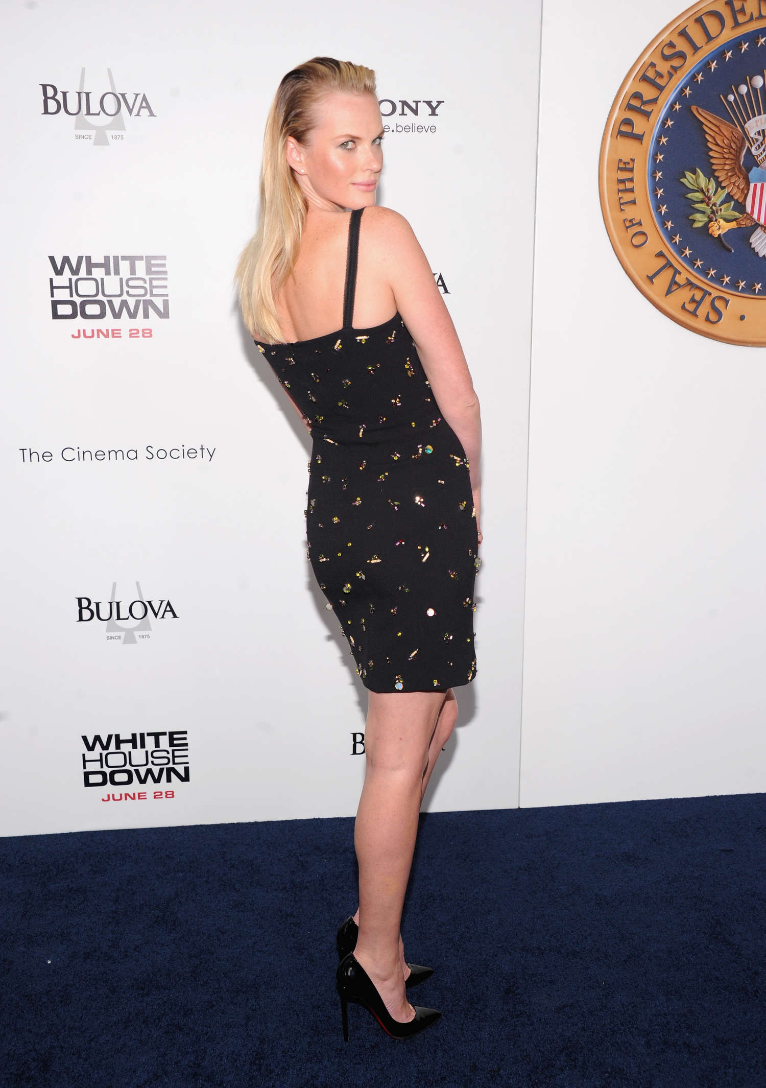 Anne Vyalitsyna White House Down Premiere in New York