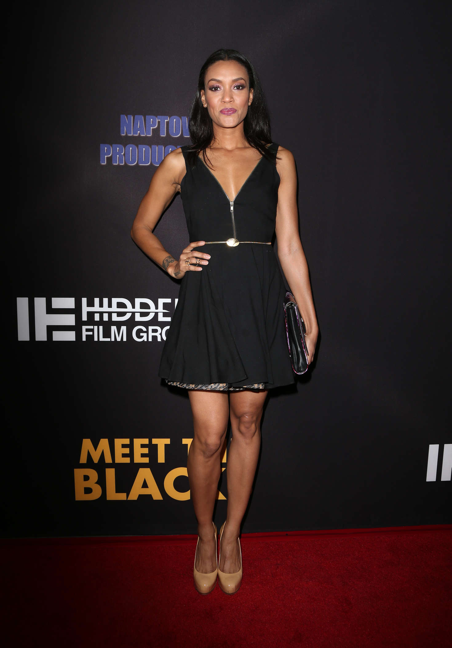 Annie Ilonzeh Freestyle Releasing Meet The Blacks Premiere in Hollywood