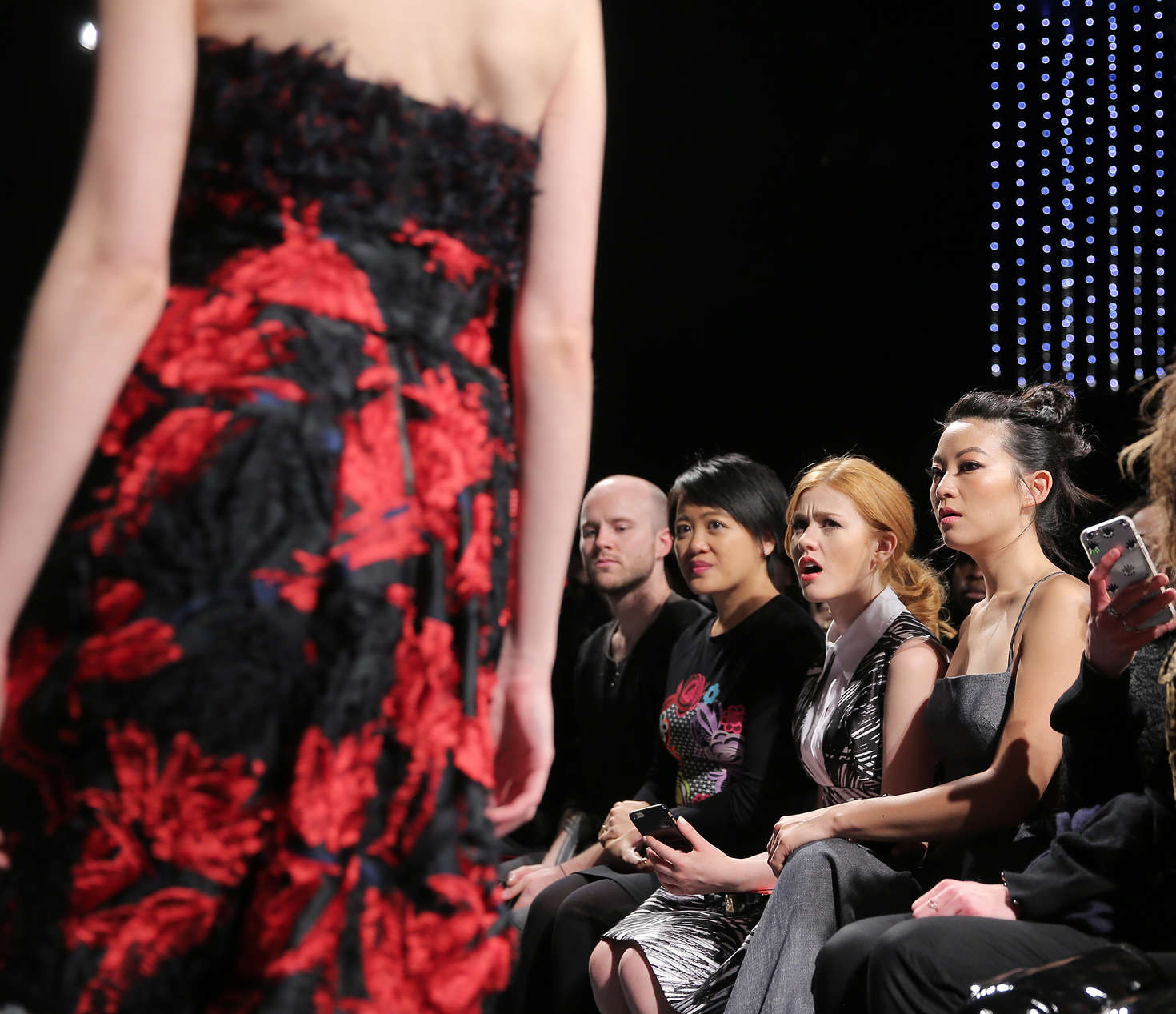 Arden Cho Milly Fashion Show in New York