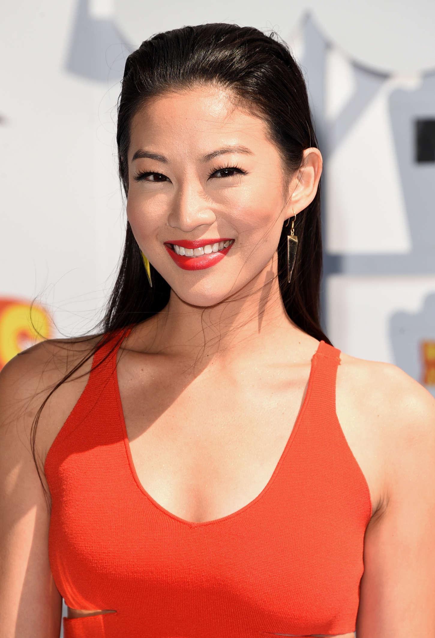 Arden Cho MTV Movie Awards in Los Angeles