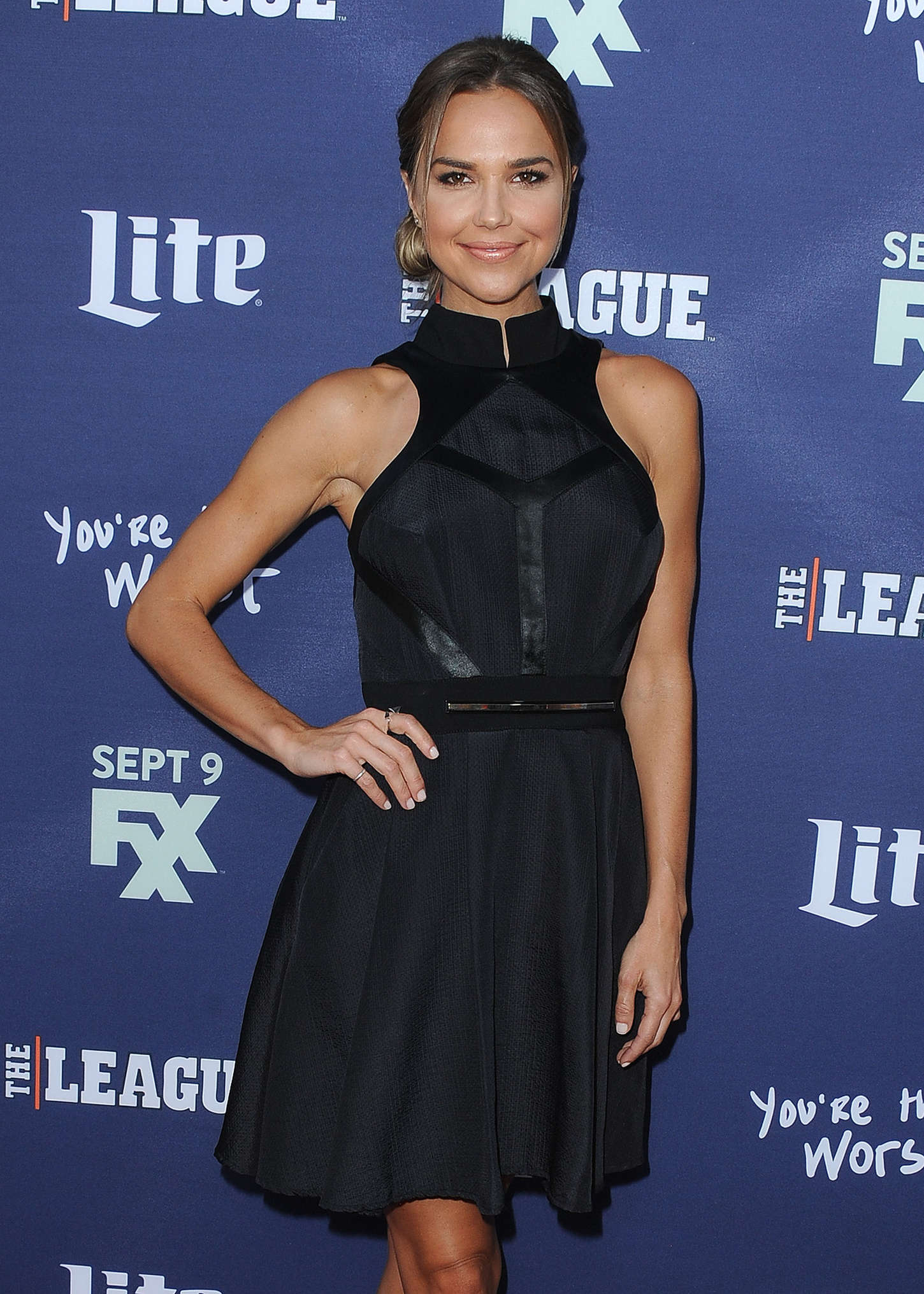 Arielle Kebbel The League and Youre The Worst Premiere in Los Angeles