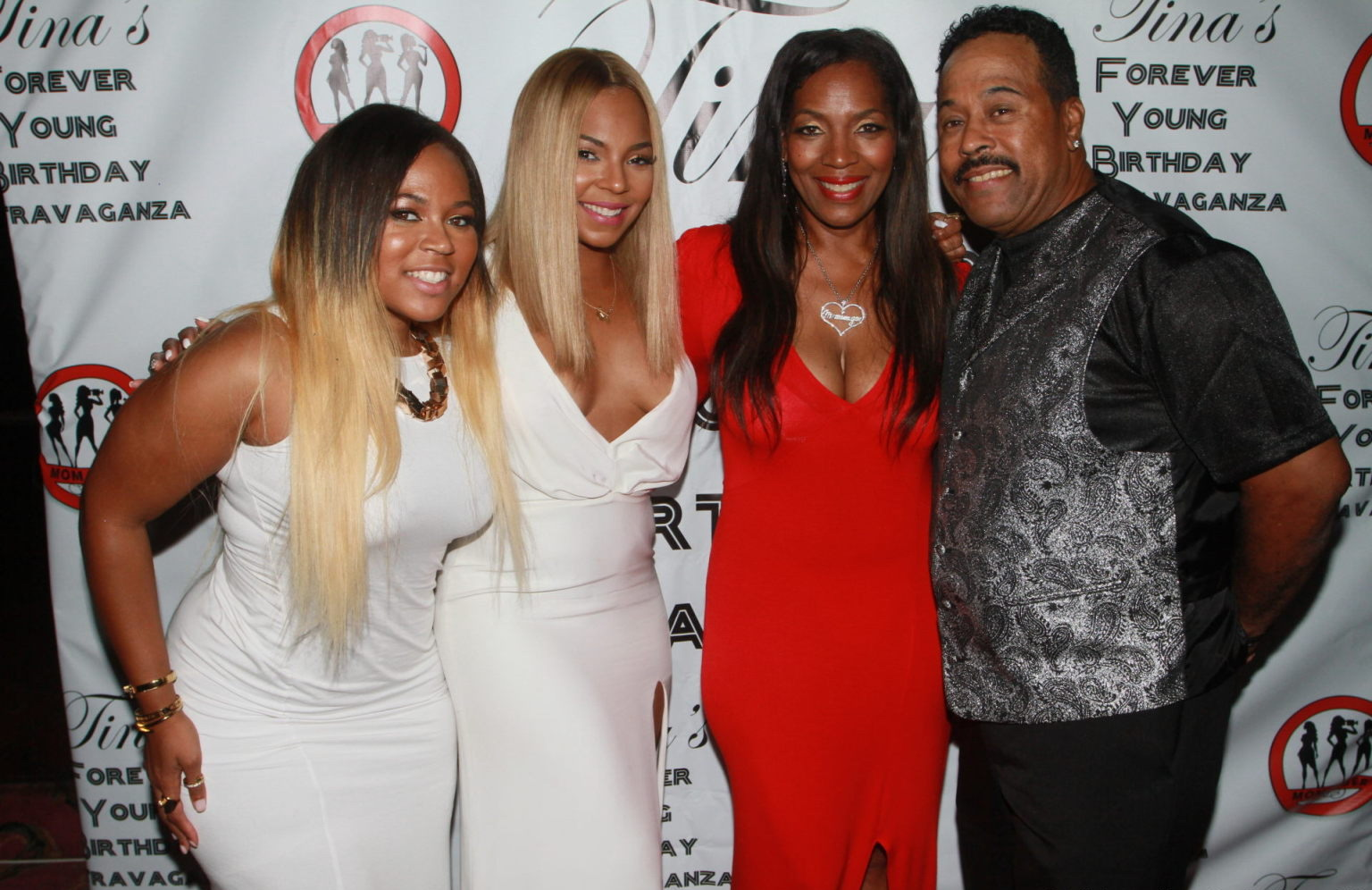Ashanti at Tinas Forever Young Birthday Extravaganza in New York