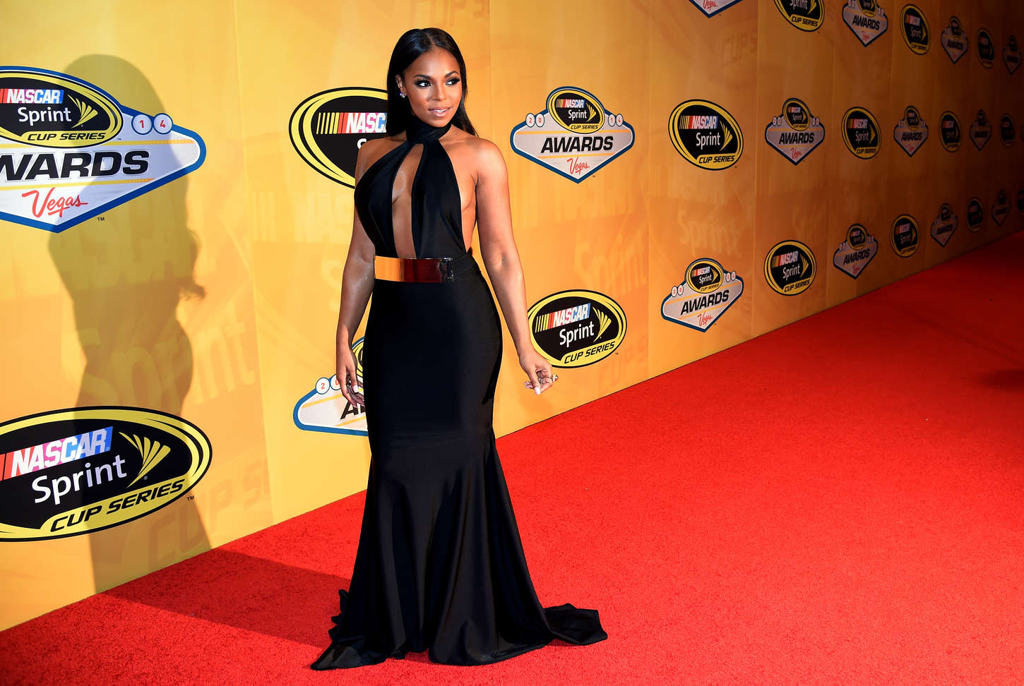 Ashanti Nascar Sprint Cup Series Awards in Las Vegas