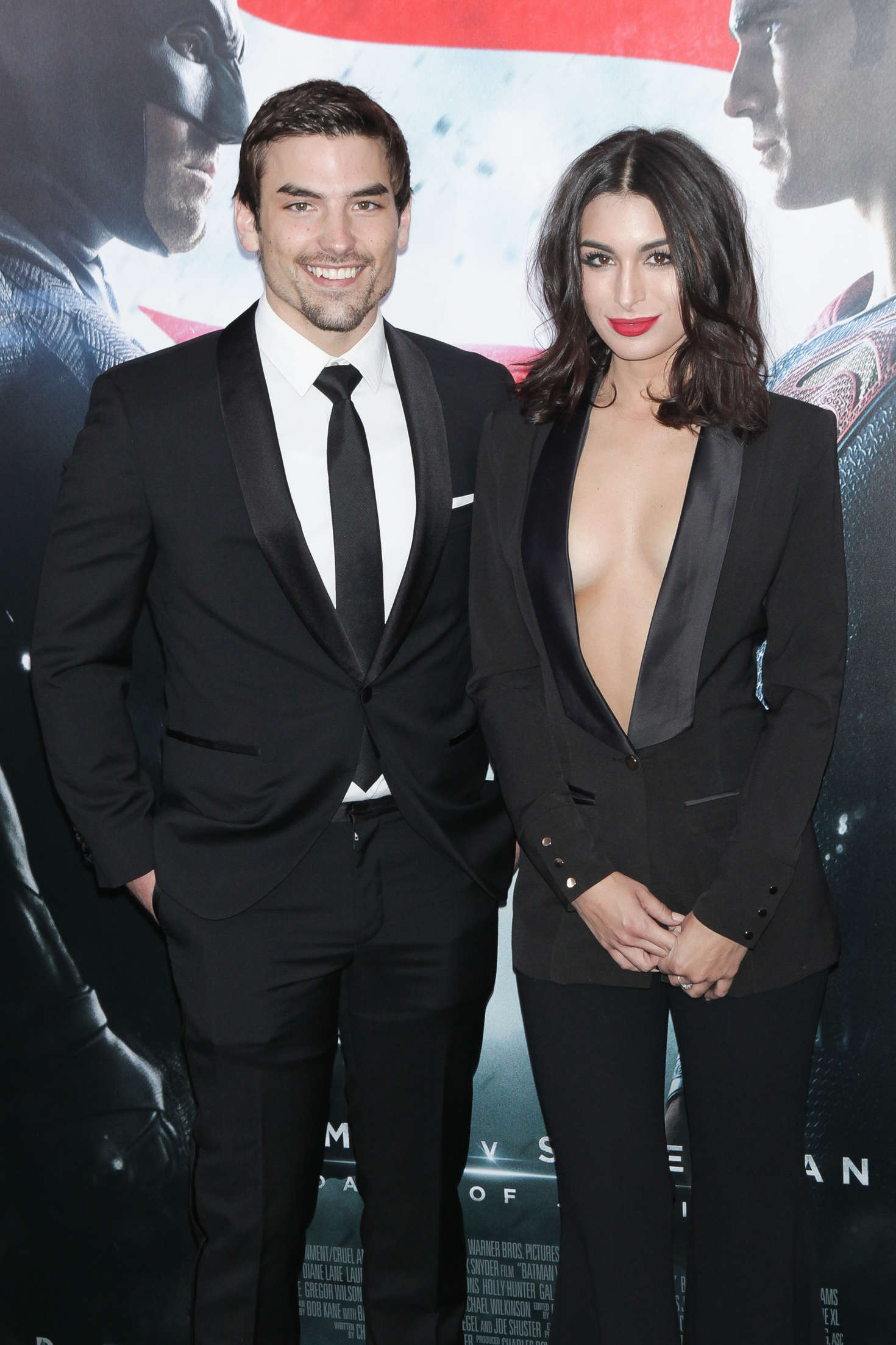 Ashley Iaconetti Batman V Superman Dawn Of Justice Premiere in New York City