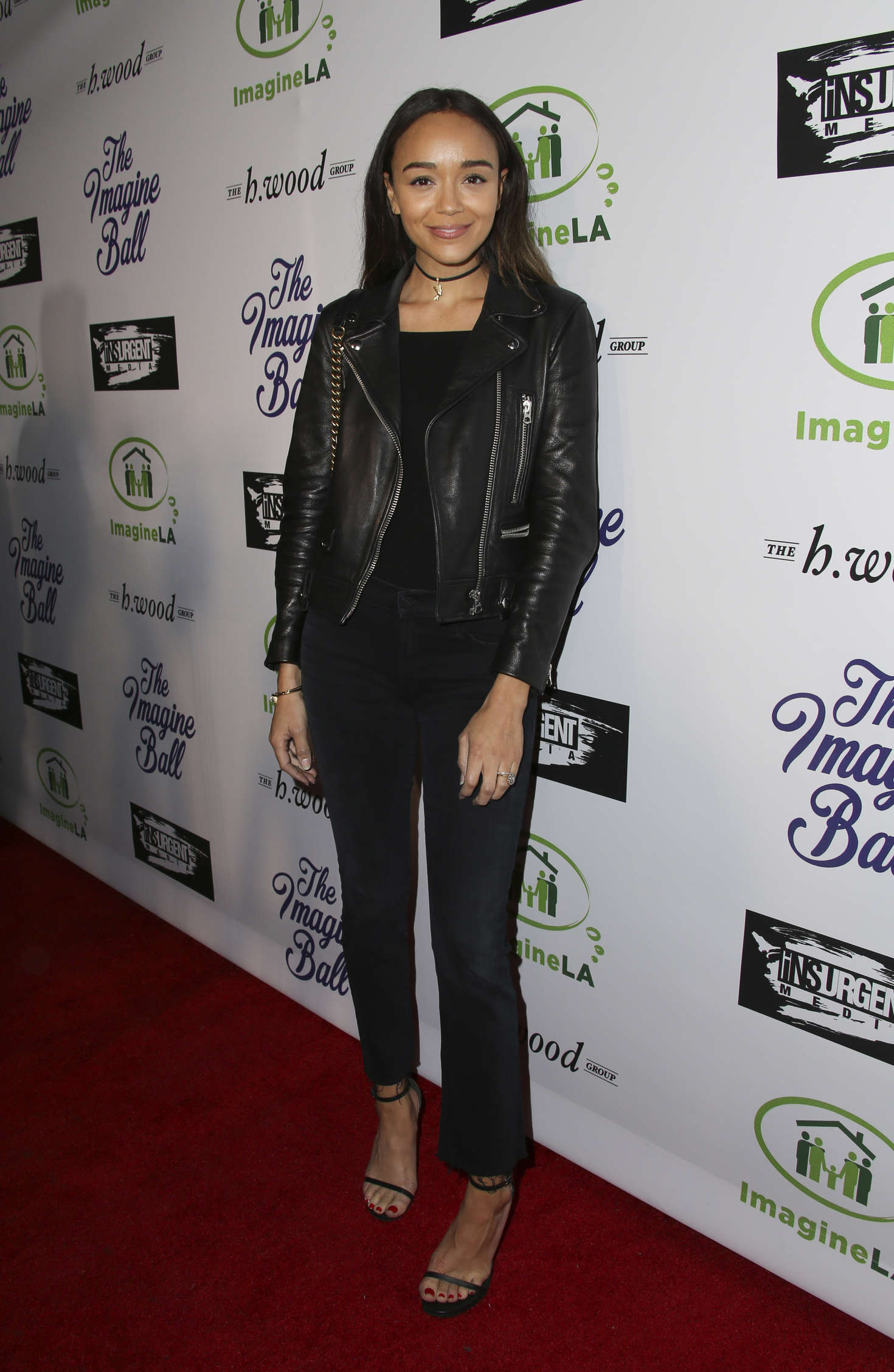 Ashley Madekwe Imagine Ball Benefiting Imagine Los Angeles in West Hollywood