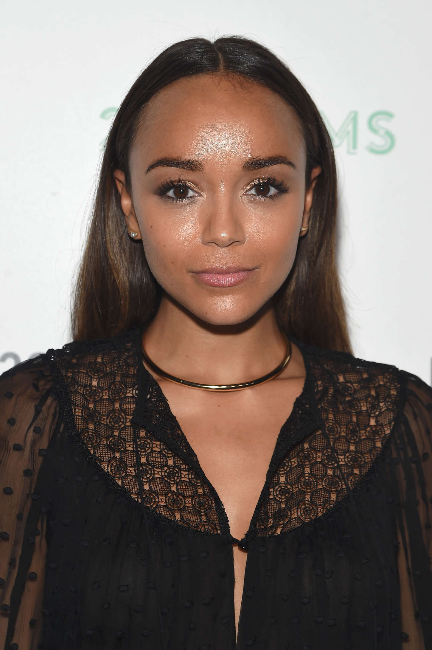 Ashley Madekwe Refinery29 Presents at NYFW in Brooklyn