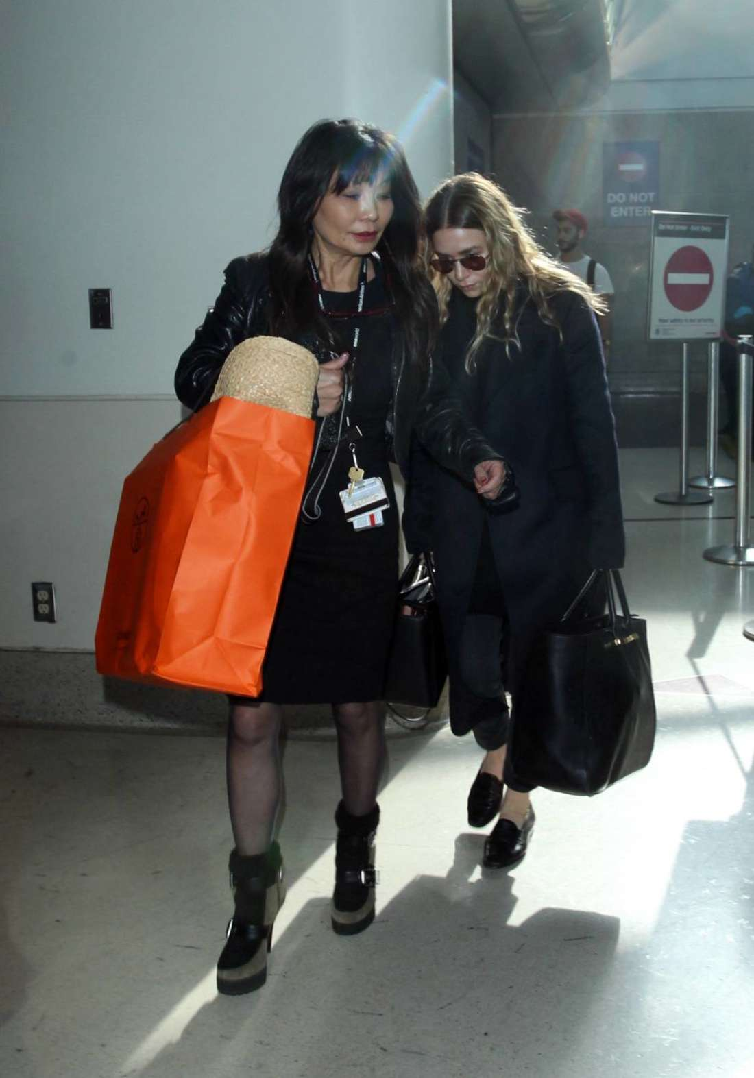 Ashley Olsen at LAX Airport in Los Angeles