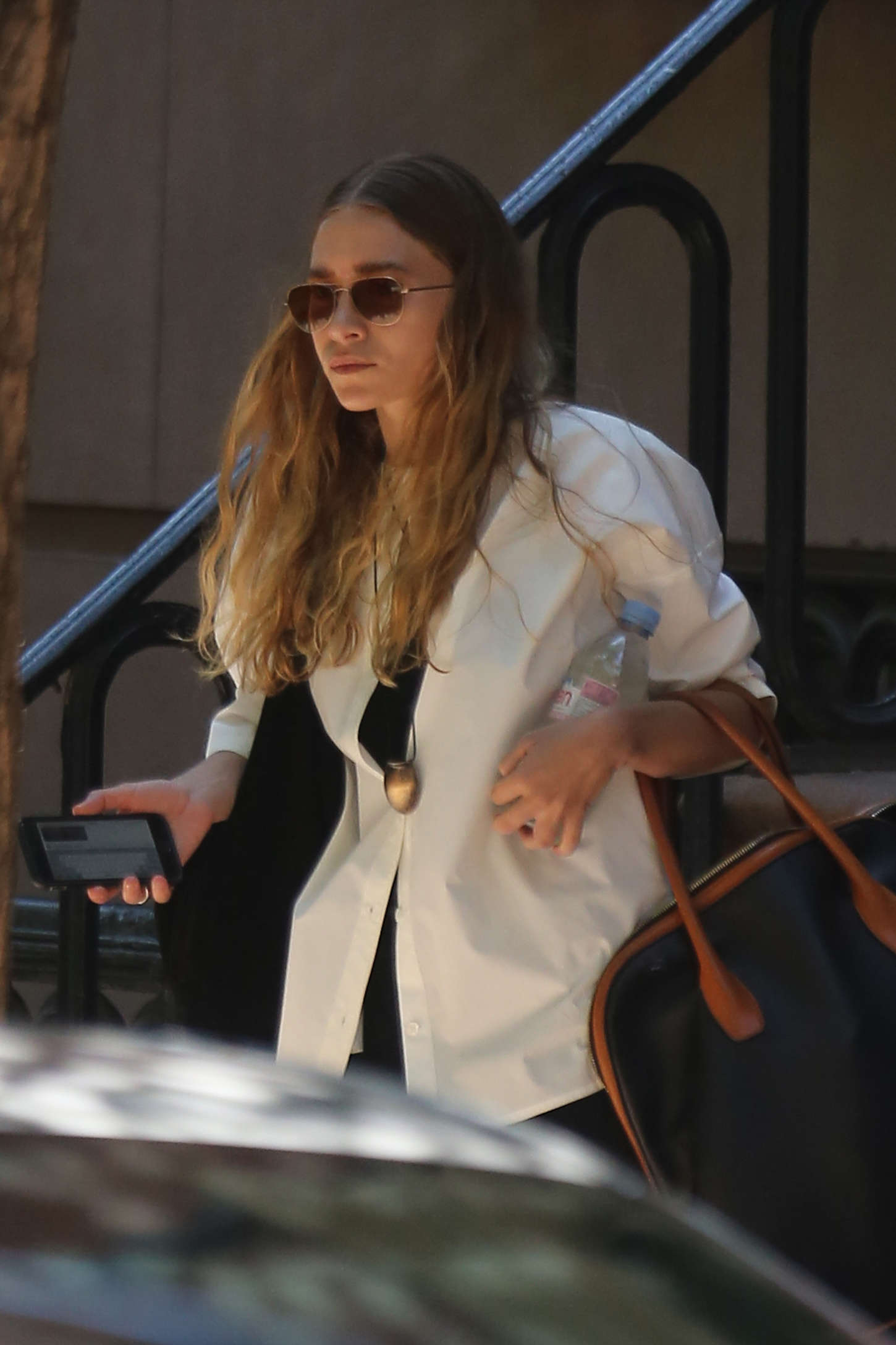 Ashley Olsen out in the West Village