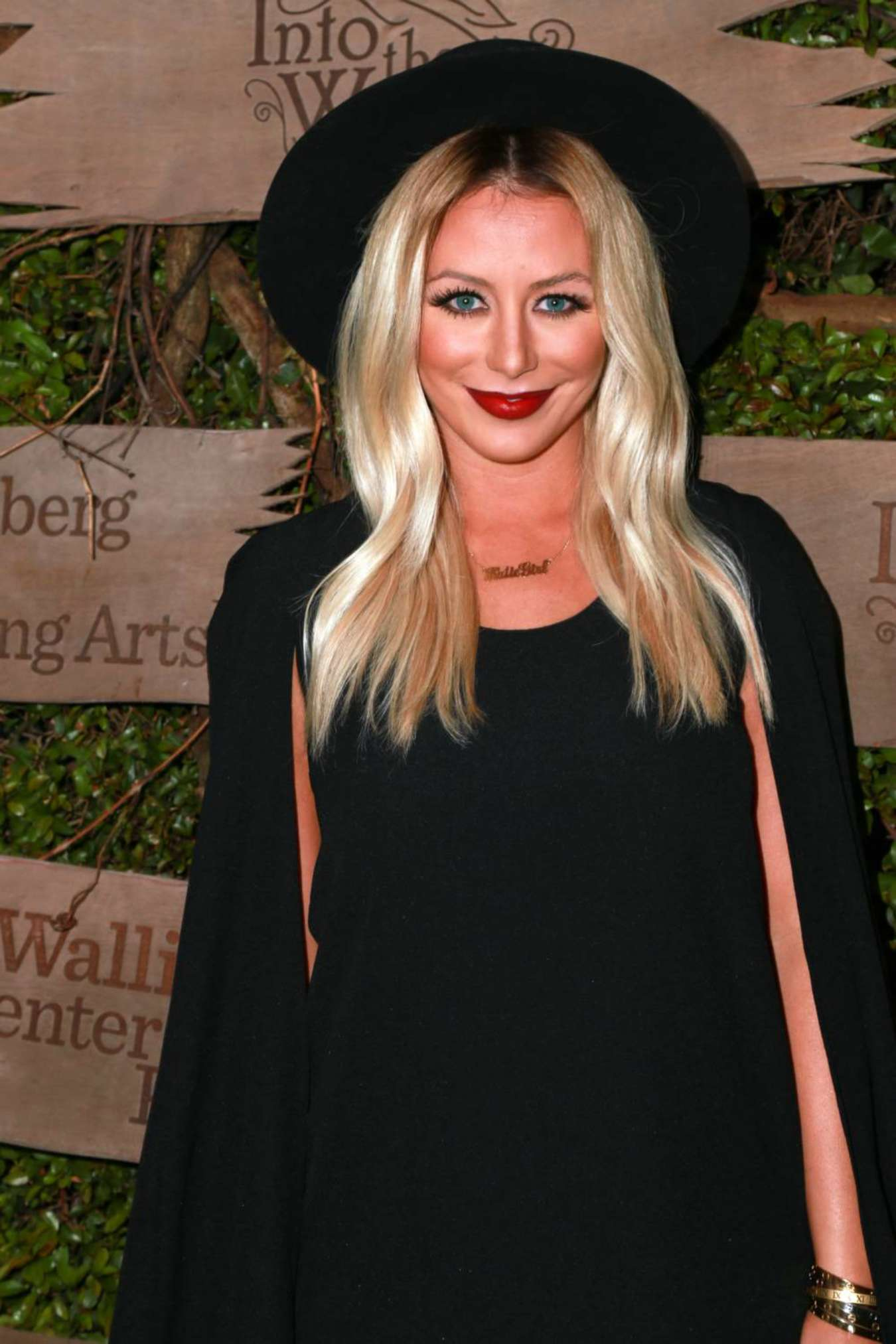Aubrey ODay Attends the opening night of Into the Woods Event in Beverly Hills