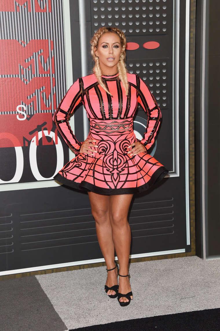 Aubrey ODay MTV Video Music Awards in Los Angeles