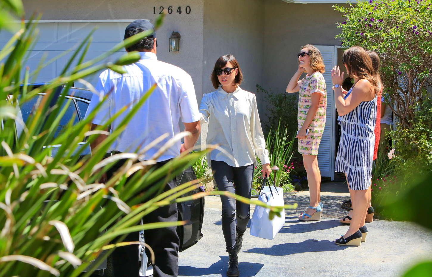 Aubrey Plaza Jennifer Kleins Day of Indulgence Summer Party in Brentwood