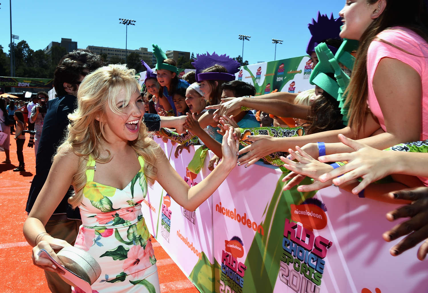 Audrey Whitby Nickelodeon Kids Choice Sports Awards in Los Angeles