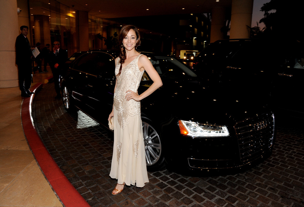 Autumn Reeser Costume Designers Guild Awards in Beverly Hills