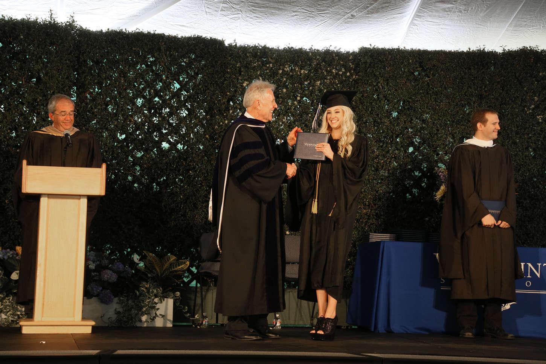 Ava Sambora Graduates from Viewpoint High School in Calabasas