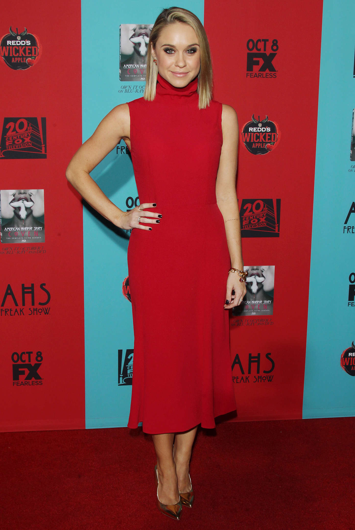 Becca Tobin American Horror Story Freak Show Premiere in Hollywood