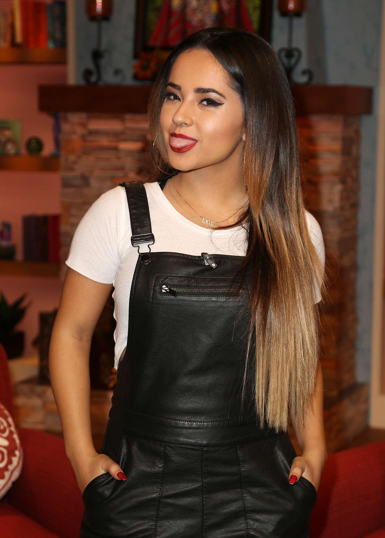 Becky G Univisions Despierta America in Miami