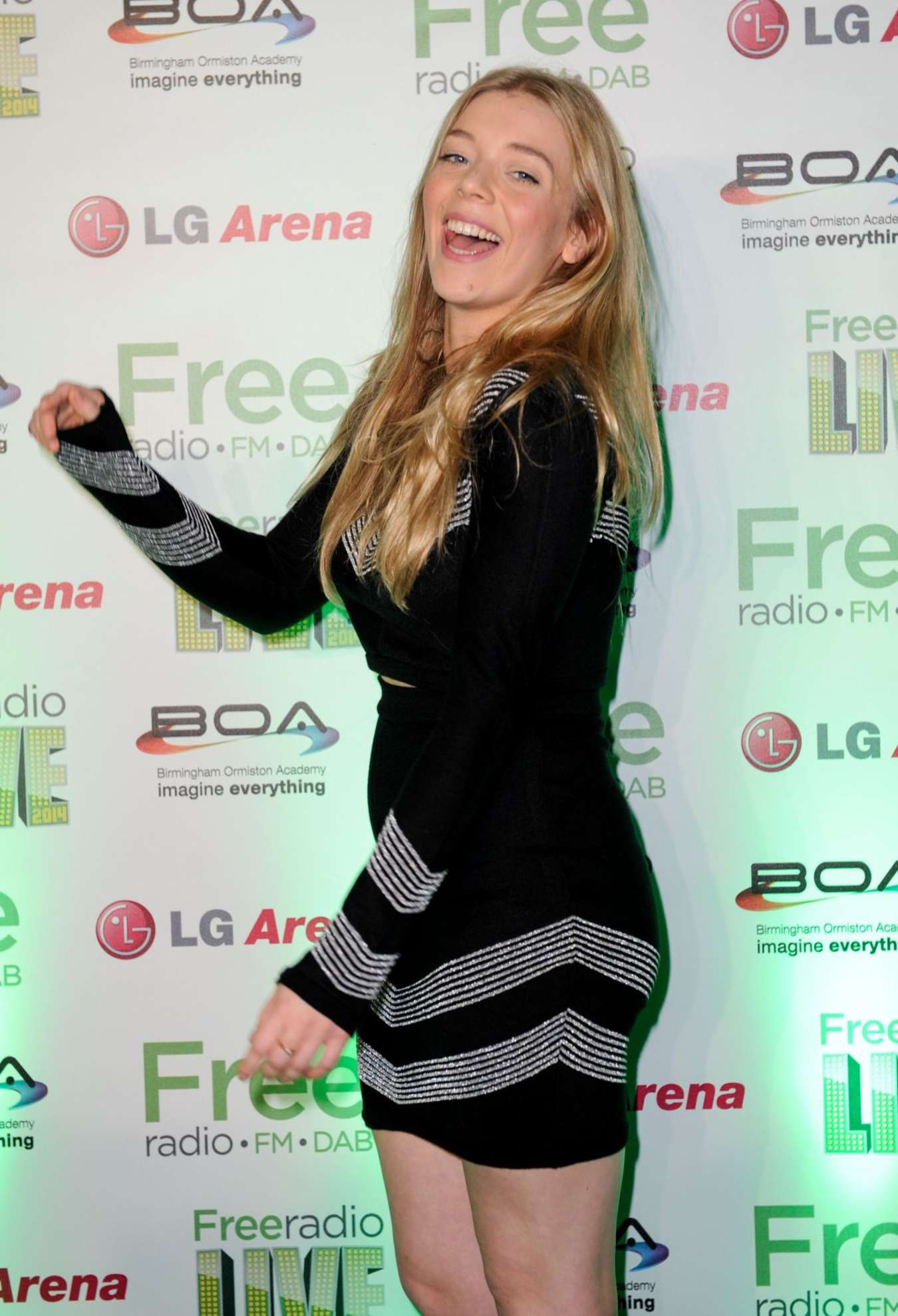 Becky Hill Performs at Free Radio Live in Birmingham