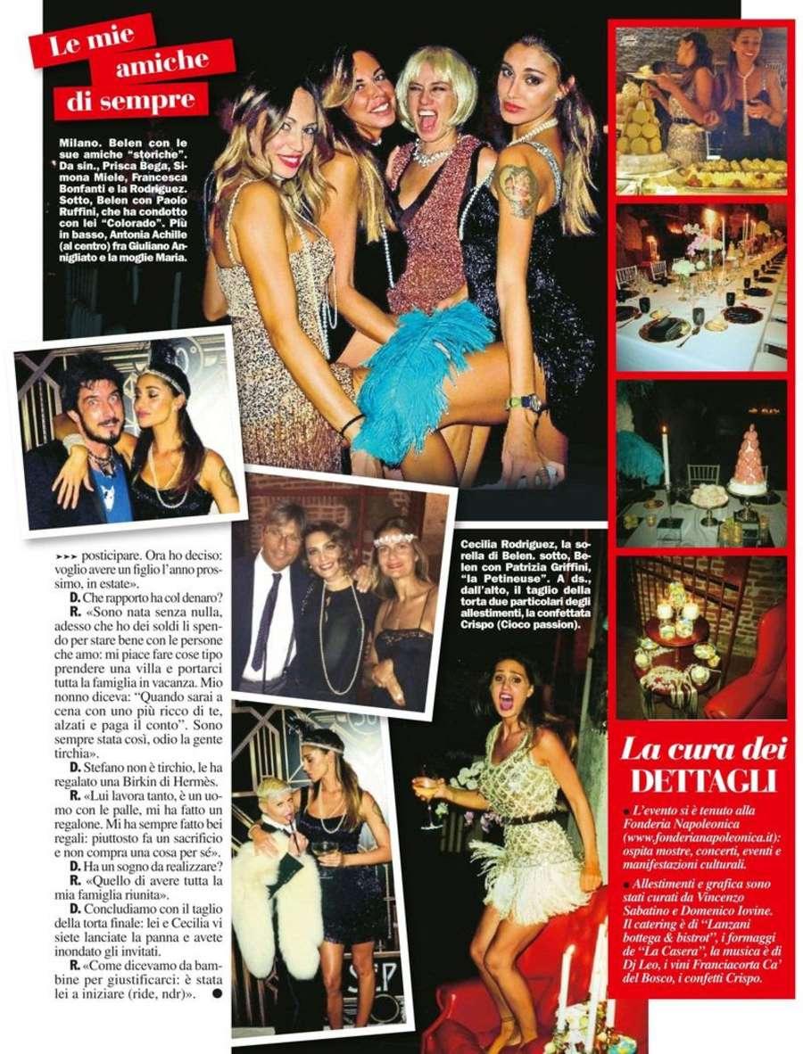 Belen Rodriguez Chi Magazine