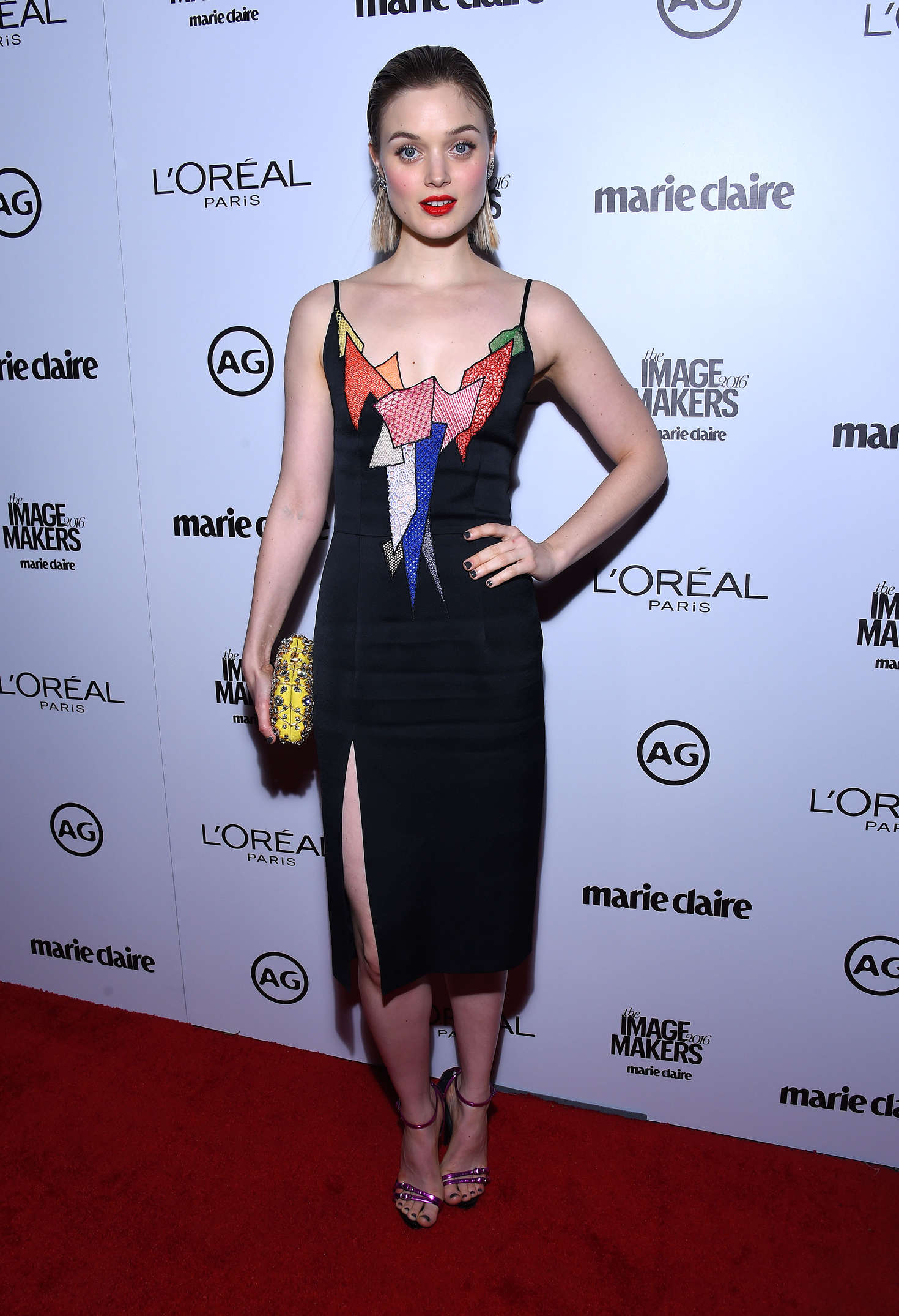 Bella Heathcote Inaugural Image Maker Awards hosted by Marie Claire in Los Angeles