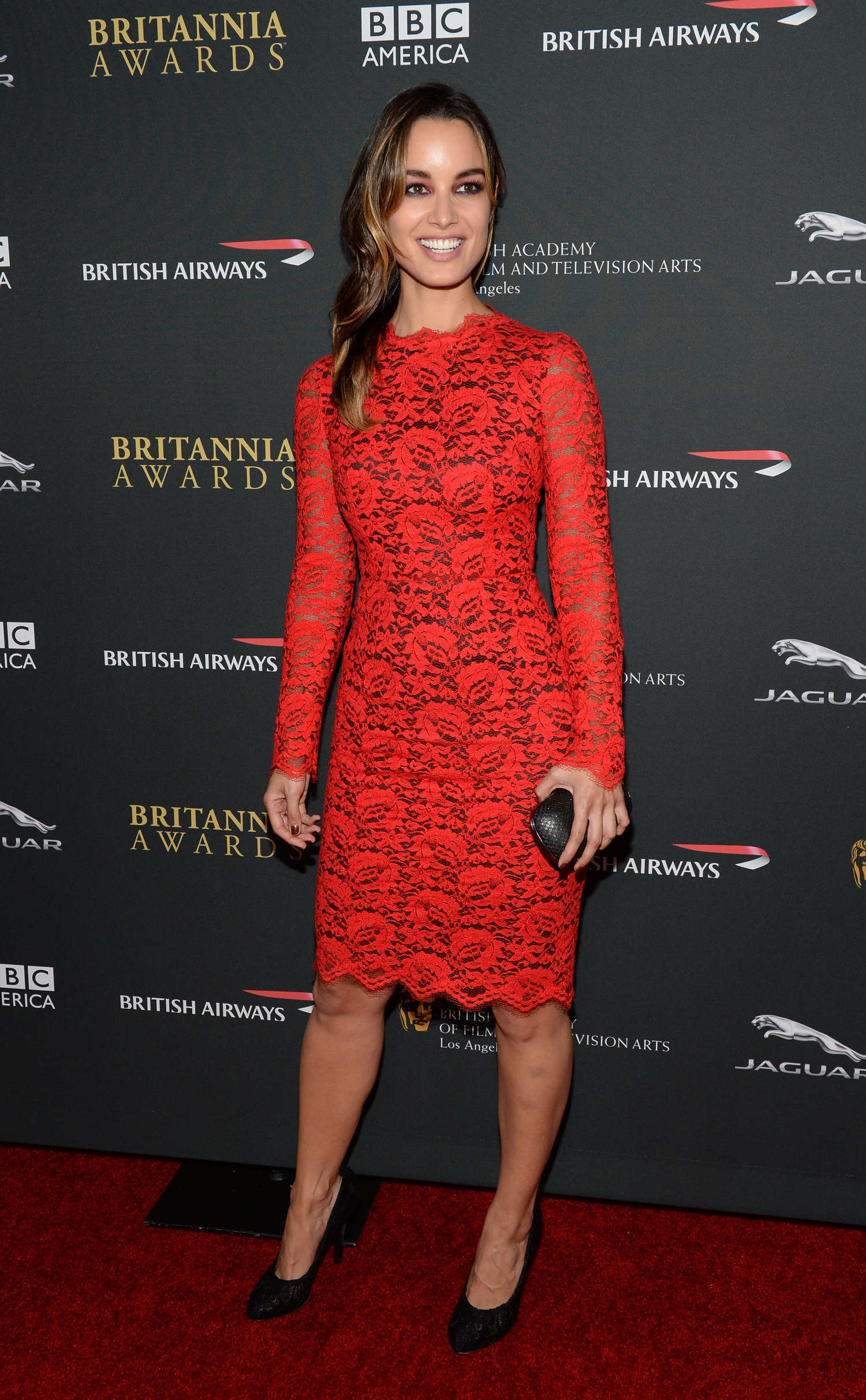 Berenice Marlohe BAFTA Britannia Awards in Beverly Hills