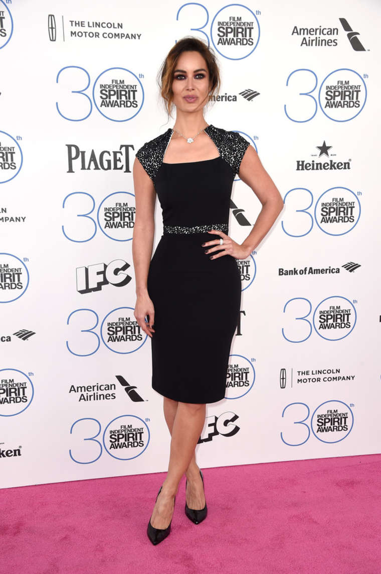 Berenice Marlohe Film Independent Spirit Awards in Santa Monica