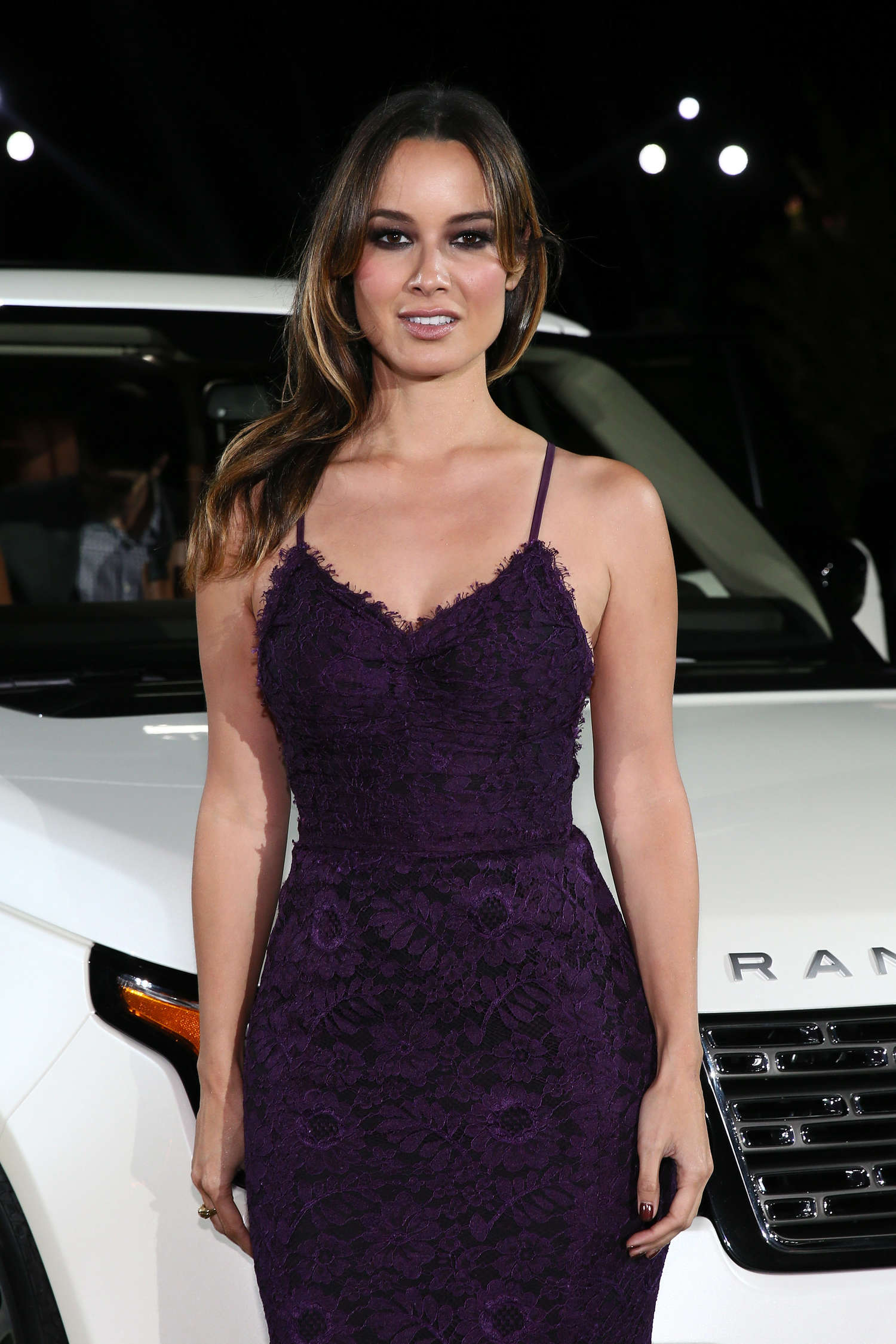 Berenice Marlohe Range Rover Reception in Beverly Hills
