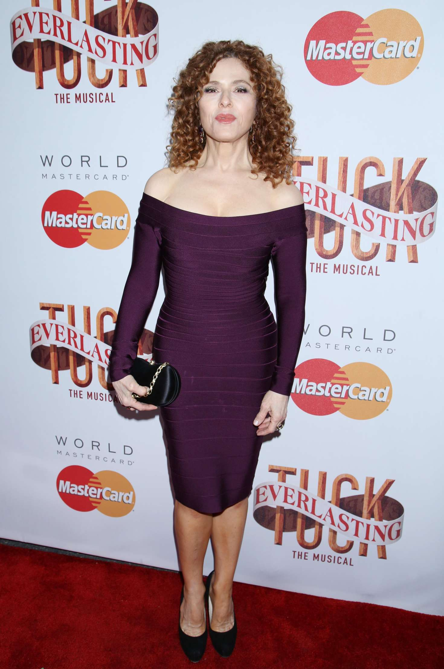Bernadette Peters Tuck Everlasting Broadway Opening Night in New York