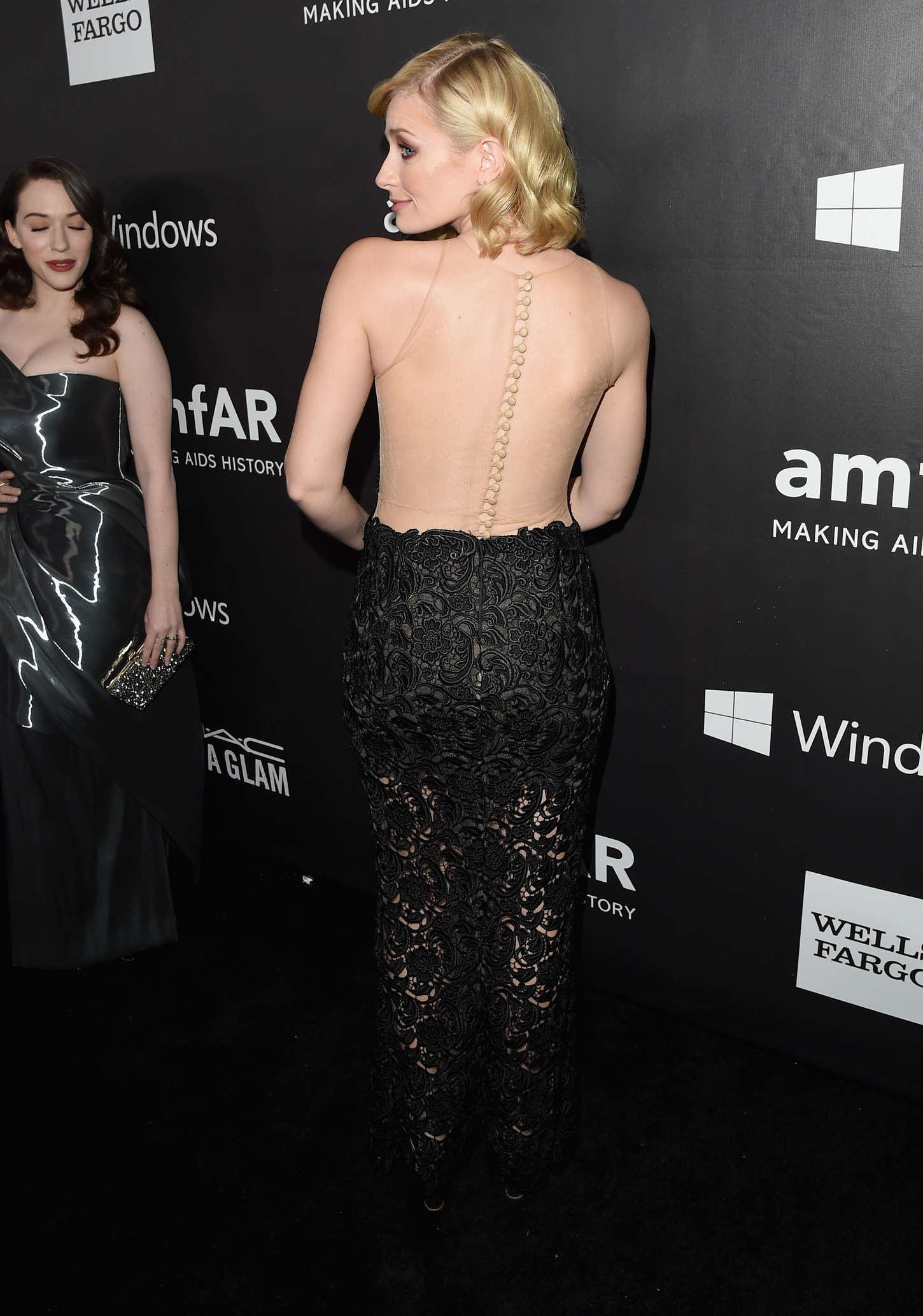 Beth Behrs amfAR Los Angeles Inspiration Gala in Hollywood