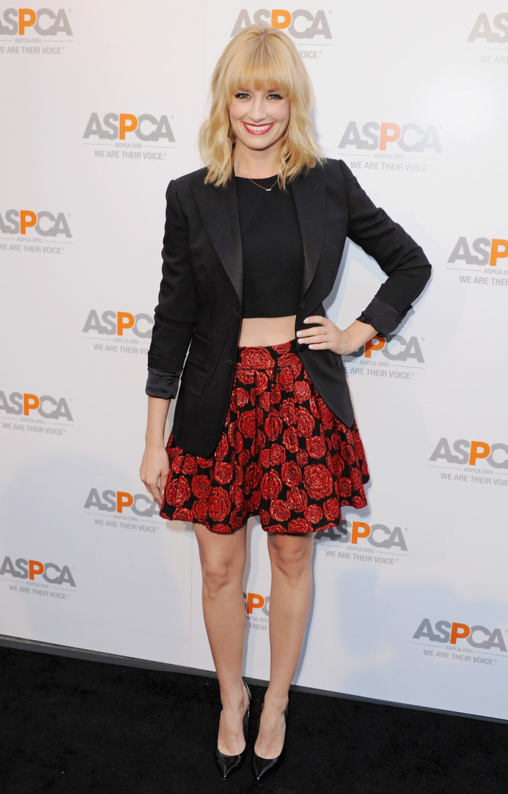 Beth Behrs ASPCA Commitment to Save Animals celebration