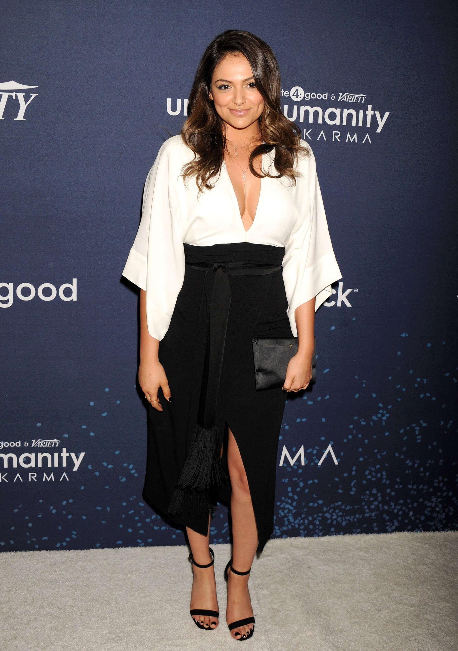 Bethany Mota Annual Unite4Humanity Gala in Beverly Hills