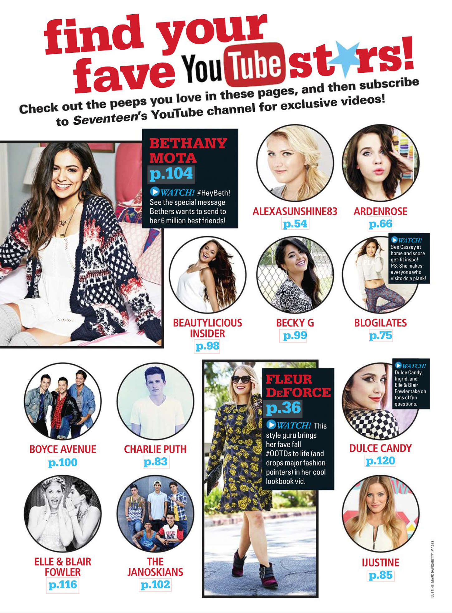 Bethany Mota Seventeen Magazine