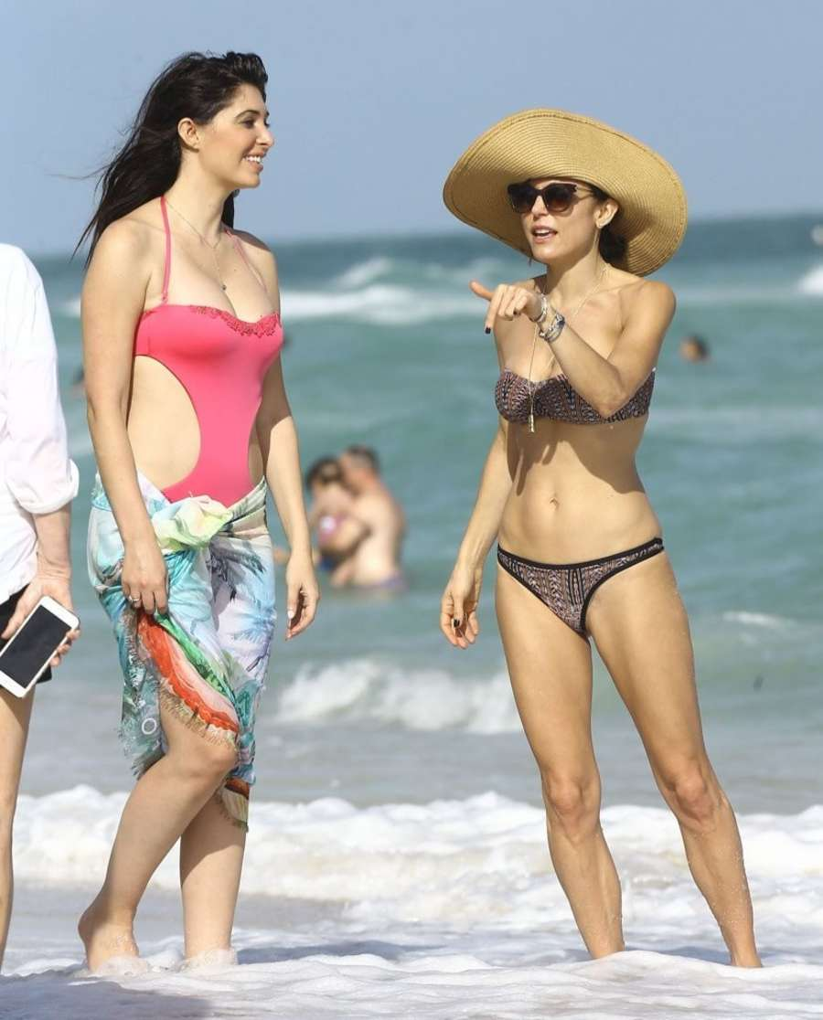 Bethenny Frankel Bikini Candids in Miami