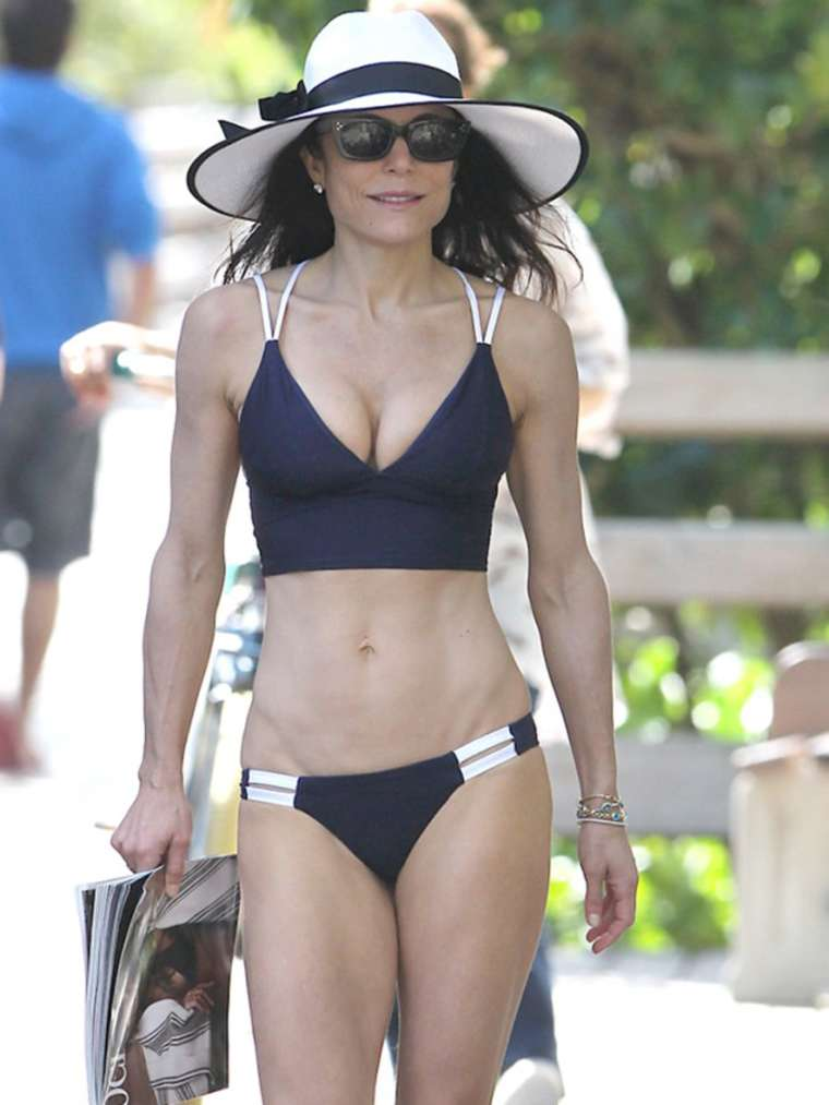 Bethenny Frankel Bikini Candids on Vacation