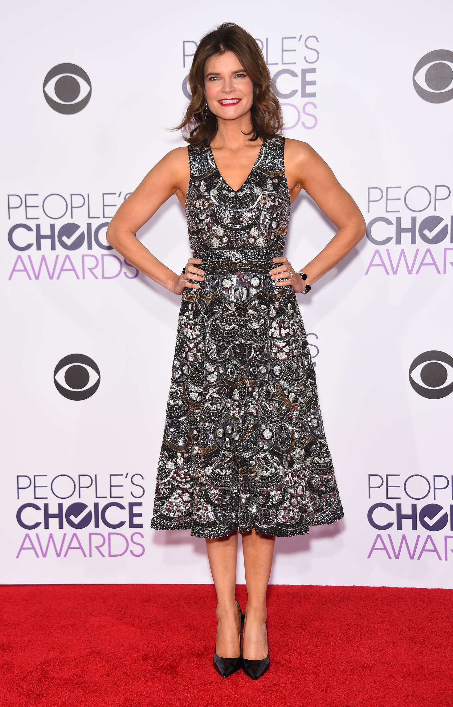 Betsy Brandt Peoples Choice Awards in Los Angeles