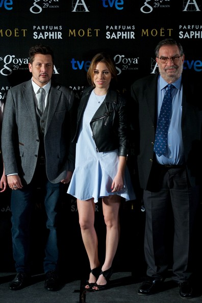 Blanca Suarez Goya Awards Candidates Press Conference in Madrid
