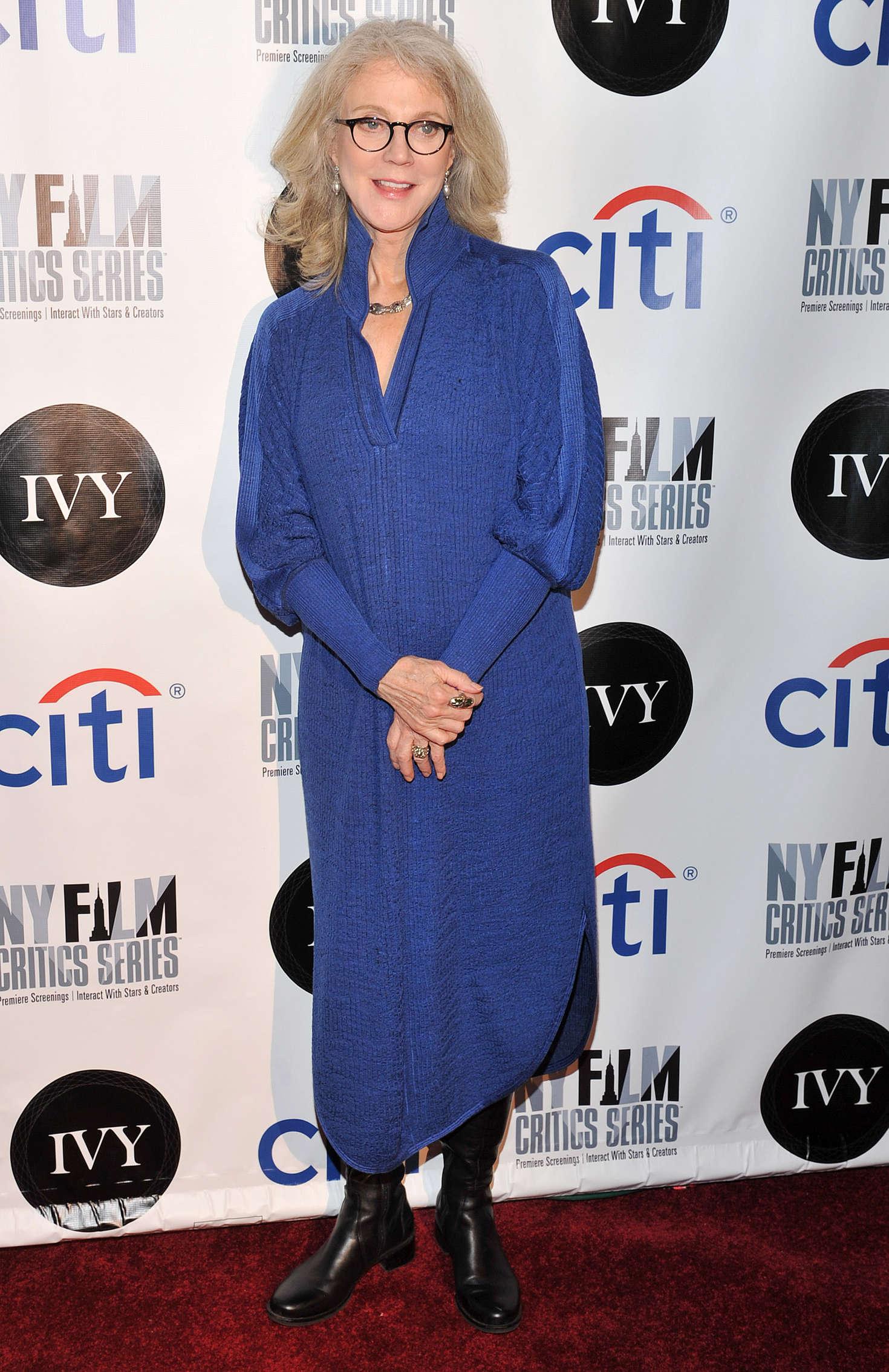 Blythe Danner Tumbledown Screening in New York