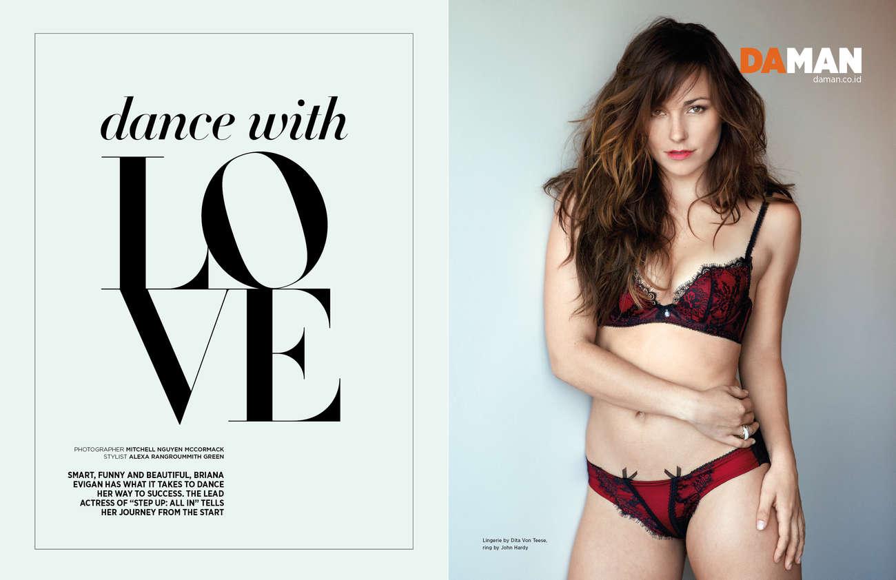Briana Evigan Da Man Magazine