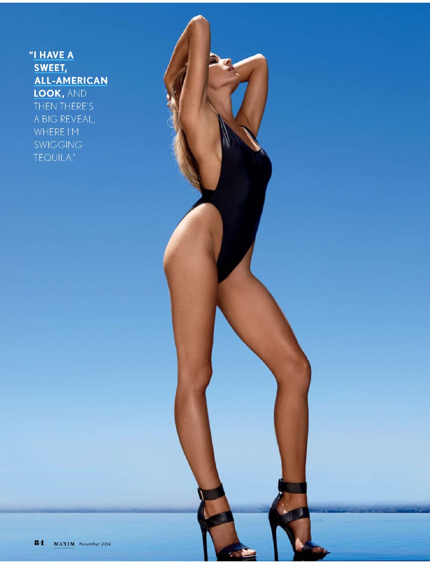 Brianne Howey Maxim Magazine