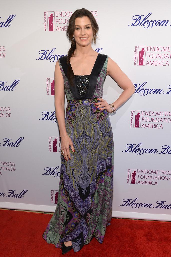 Bridget Moynahan Annual Blossom Ball in New York