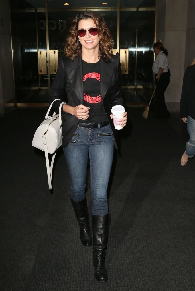Bridget Moynahan at NBC Studios in New York