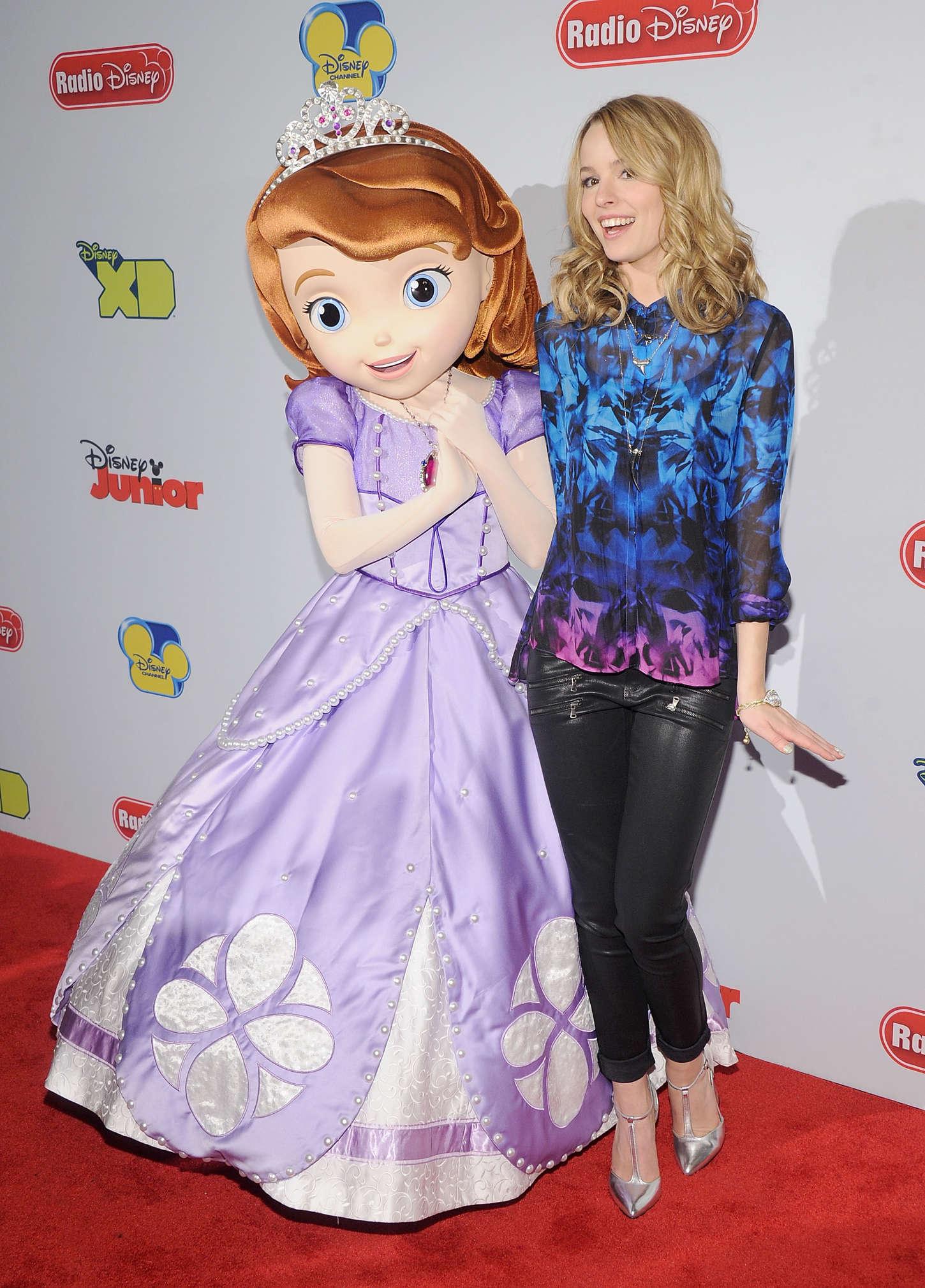 Bridgit Mendler Disney Channel Kids Upfront in New York