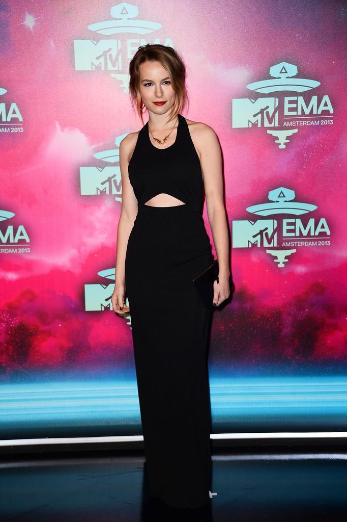 Bridgit Mendler MTV EMAs in Amsterdam
