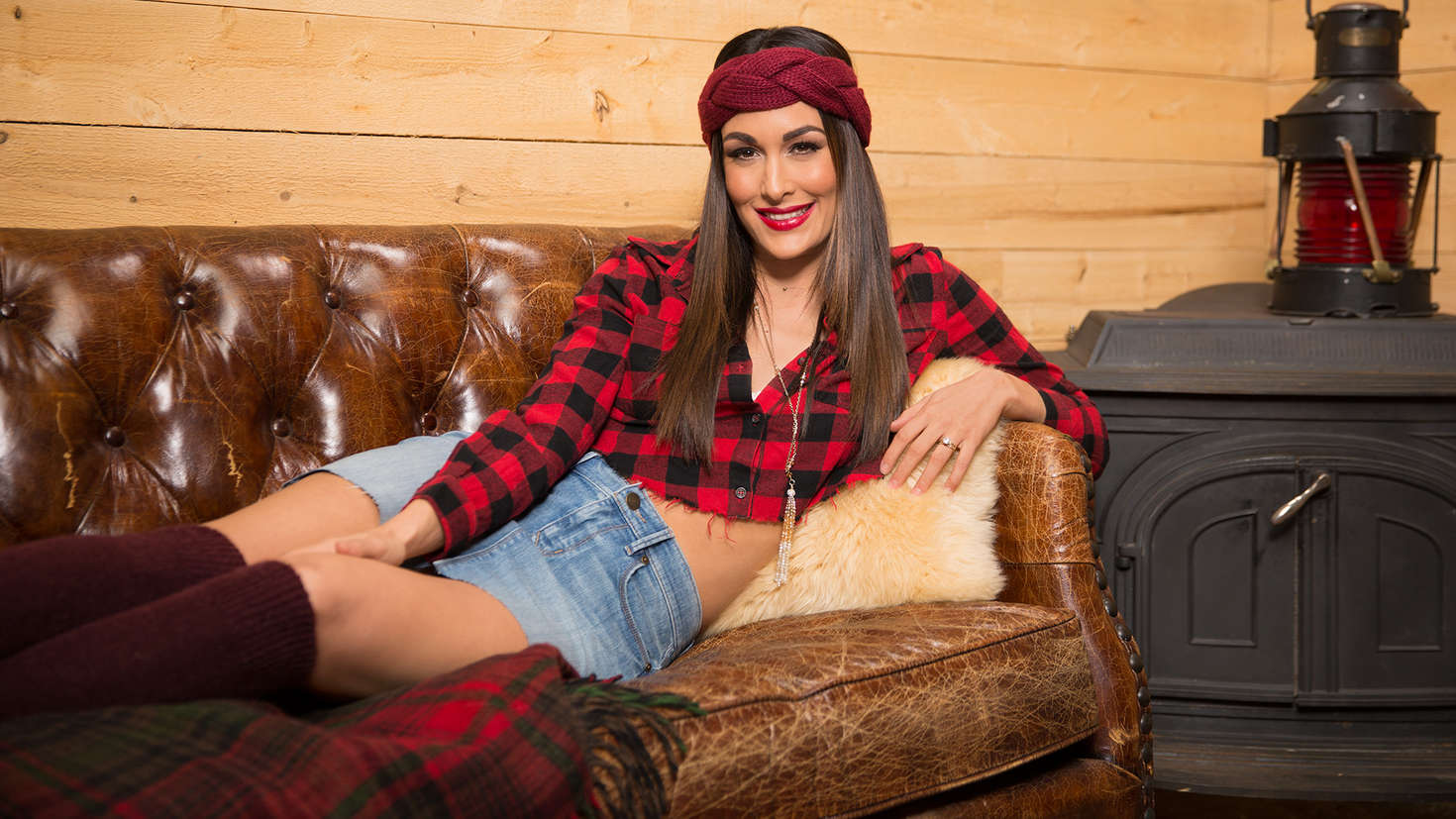Brie Bella Cabin Fever Photoshoot
