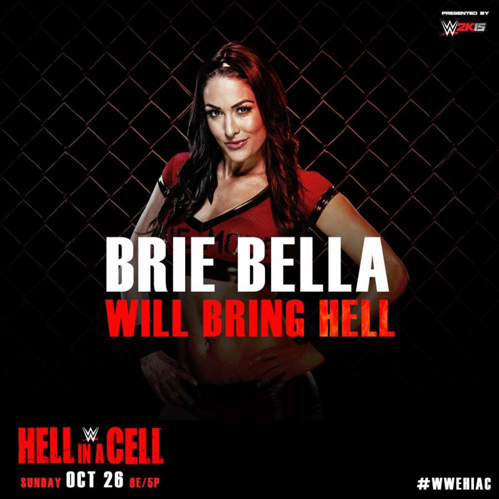 Brie Nikki Bella WWE Hell In A Cell PPV Promo